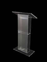 The Abacus Frost lectern is a truly premium lectern