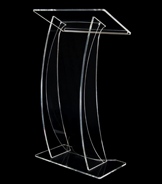 This stylish lectern is a popular choice