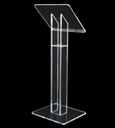 Our cheapest acrylic lectern