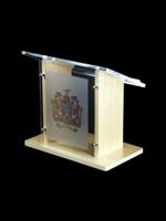 Amethyst Table Top Lectern